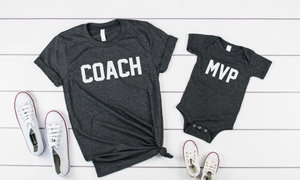 Coach/MVP Shirt Set - Hot Mess Mom Designs