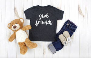 Mommy and Me Girl Friends Shirt Set