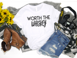 Worth The Whiskey - Hot Mess Mom Designs