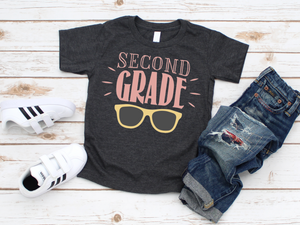 Second Grade Shirt - Hot Mess Mom Designs