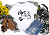 Cheers Witches Unisex Shirt - Hot Mess Mom Designs