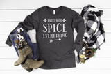 Pumpkin Spice Everything Long Sleeve - Hot Mess Mom Designs