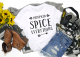 Pumpkin Spice Everything Unisex Short Sleeve - Hot Mess Mom Designs