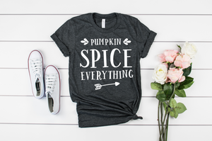Pumpkin Spice Everything Unisex Short Sleeve