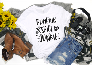 Pumpkin Spice Junkie - Hot Mess Mom Designs