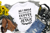 A Little Coffee and a lot of Jesus - Hot Mess Mom Designs