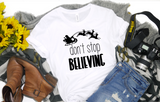 Don't Stop Believing - Hot Mess Mom Designs