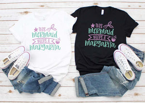 This Mermaid Needs a Margarita - Hot Mess Mom Designs