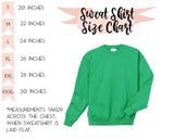 Love Shamrock St Patricks Day Sweatshirt - Hot Mess Mom Designs