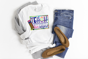 Teach Love Inspire - Hot Mess Mom Designs