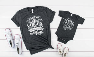 This is My Circus and These are my Monkeys - Hot Mess Mom Designs