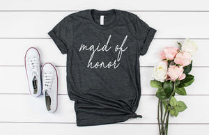 Custom Bridal Party Shirts - Hot Mess Mom Designs