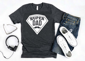 Super Dad - Hot Mess Mom Designs