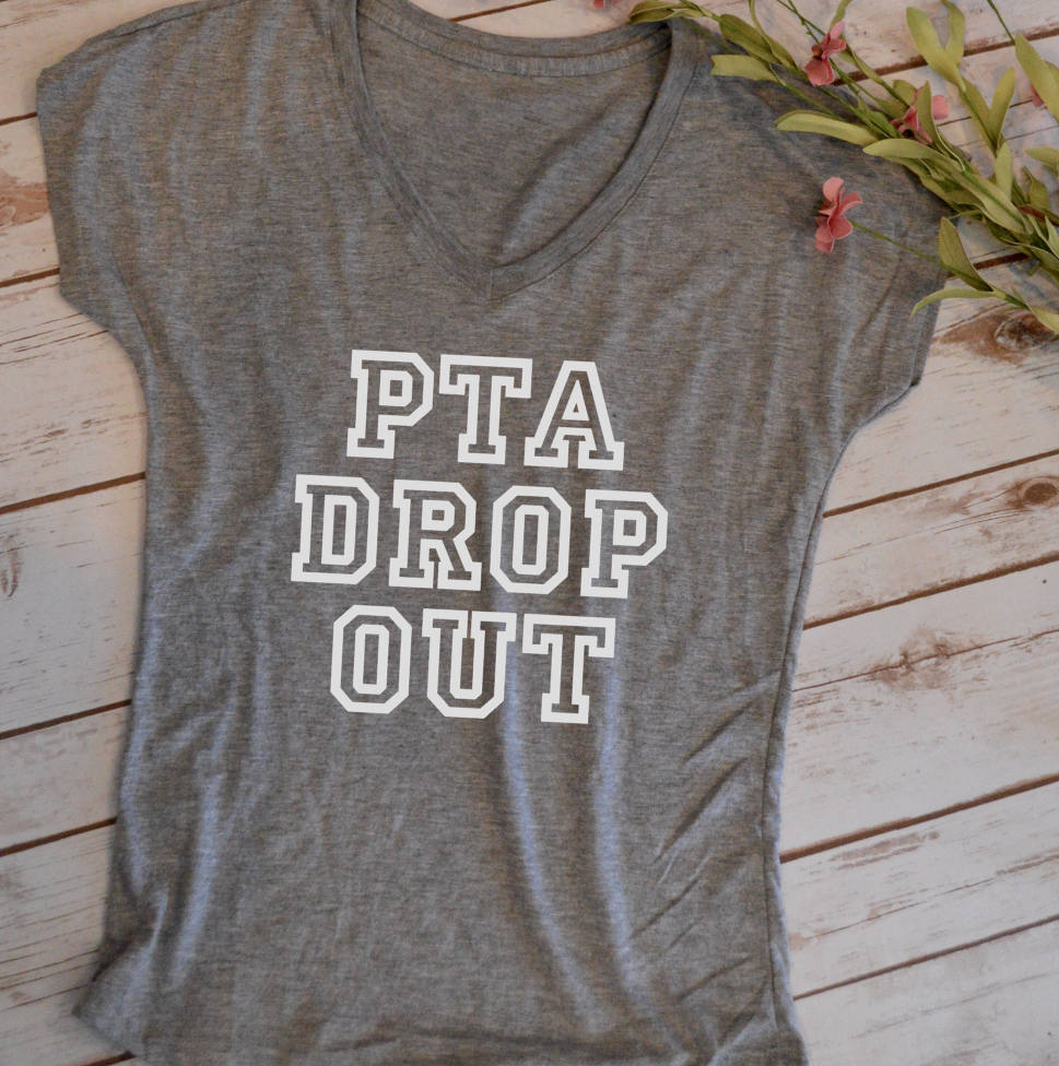 pta drop out tshirt