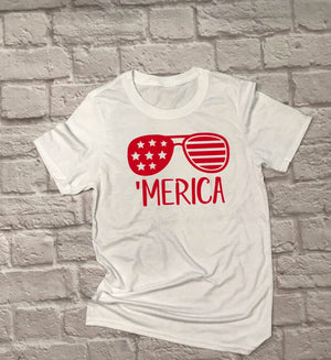 Unisex Merica - Hot Mess Mom Designs
