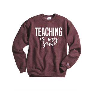 Teaching is My Jam - Hot Mess Mom Designs