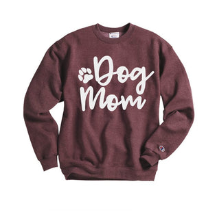 dog mom sweatshirt - Hot Mess Mom Designs