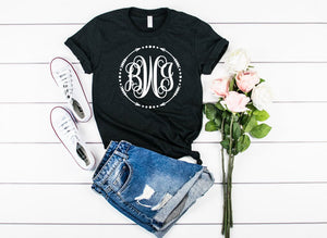 Large Monogram Unisex Shirt