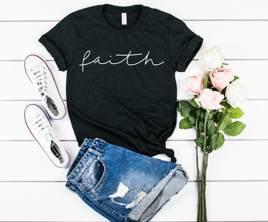 Faith shirt - Hot Mess Mom Designs