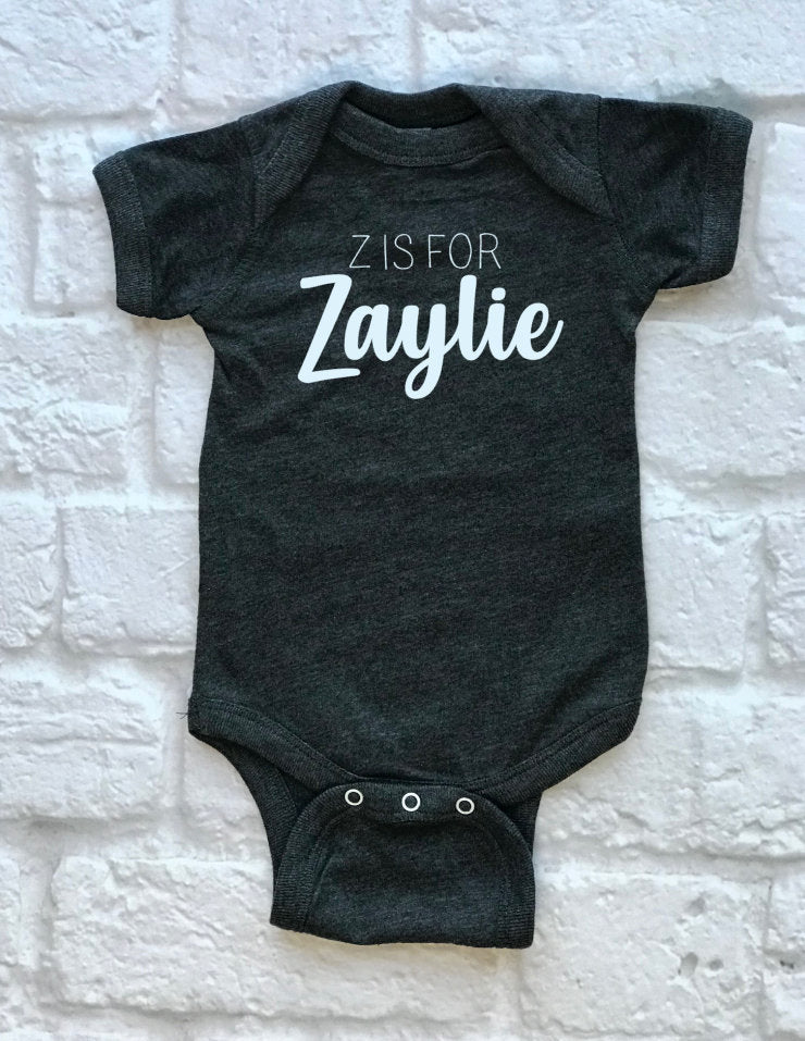 custom Name baby outfit - Hot Mess Mom Designs