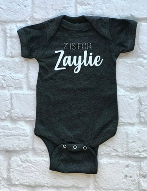 custom Name baby outfit