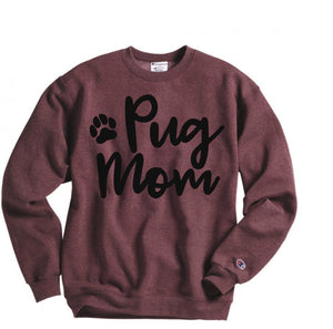 personalized dog mom sweatshirt