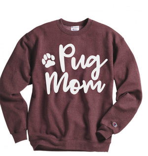 personalized dog mom sweatshirt - Hot Mess Mom Designs