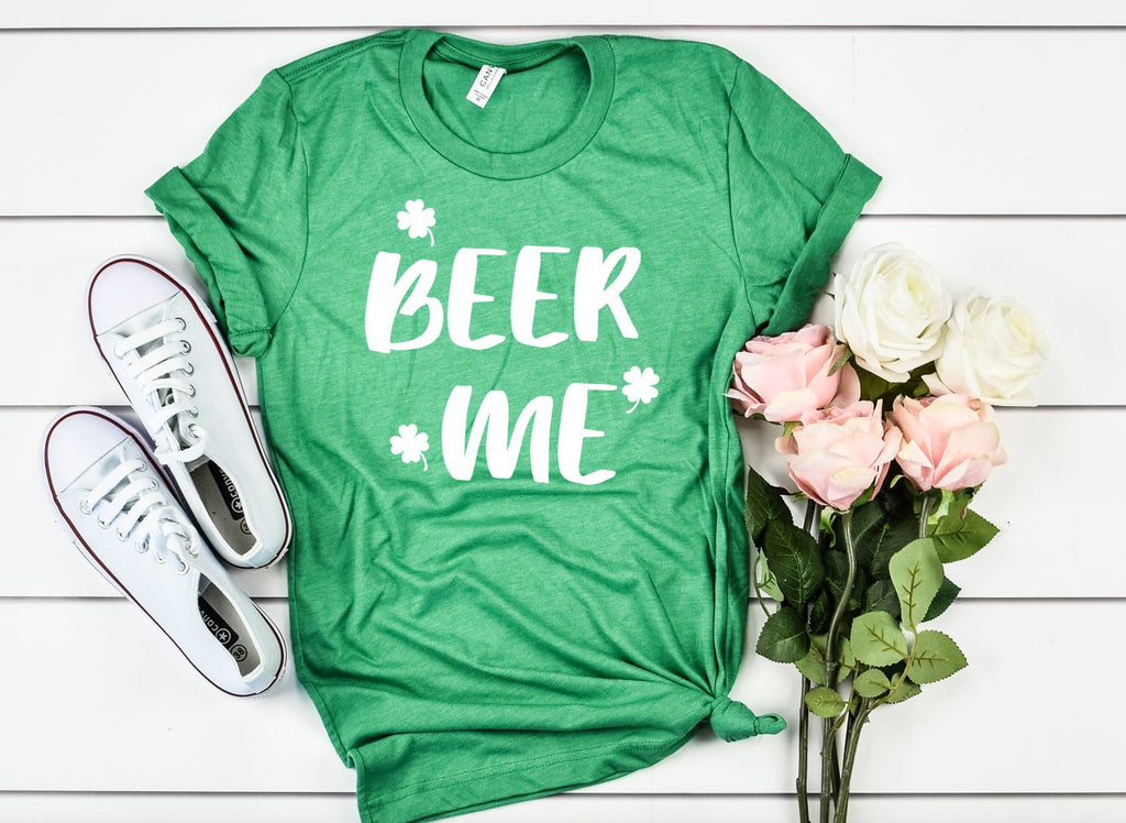 Beer Me Unisex Shirt - Hot Mess Mom Designs