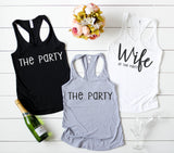 Wife Of The Party Tank Tops - Hot Mess Mom Designs