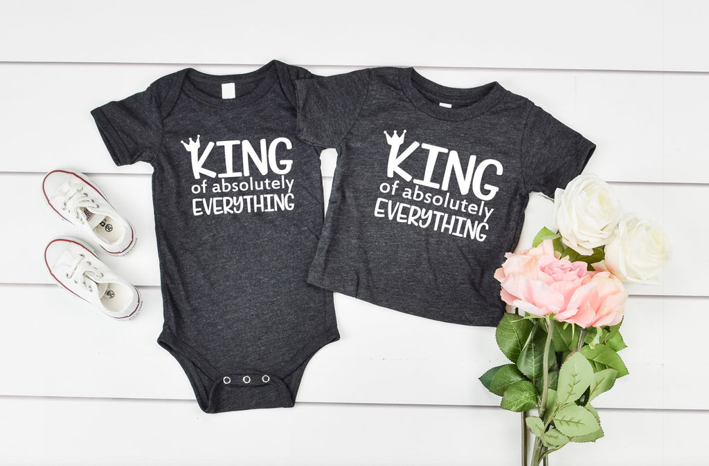 King of Absolutely Everything - Hot Mess Mom Designs