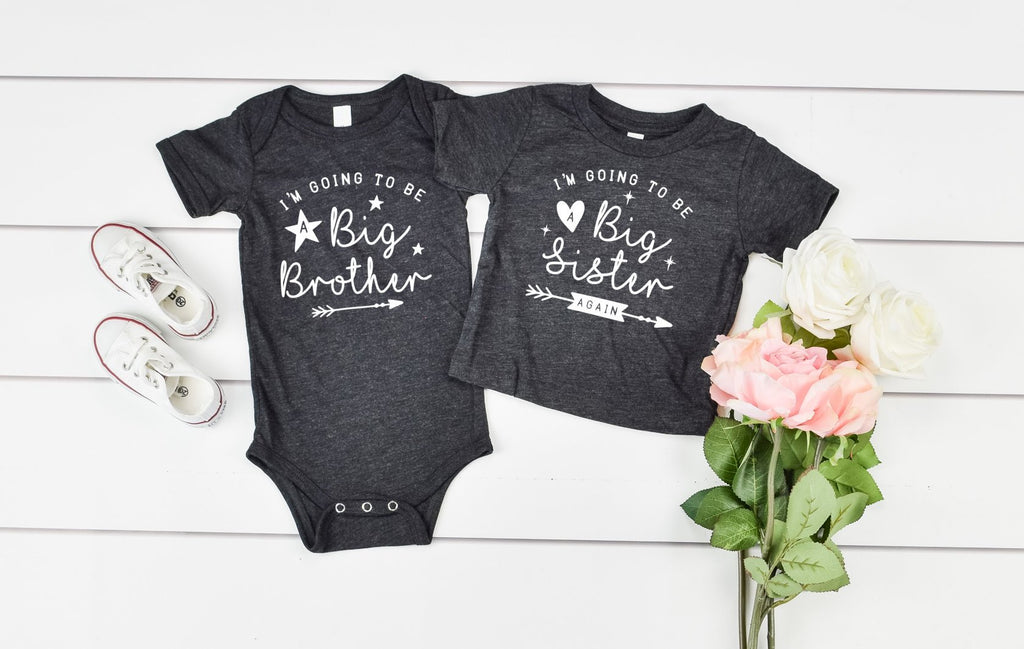 Im Going to be a big brother or sister - Hot Mess Mom Designs
