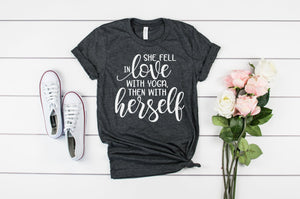 Love Yoga, Love Yourself - Hot Mess Mom Designs