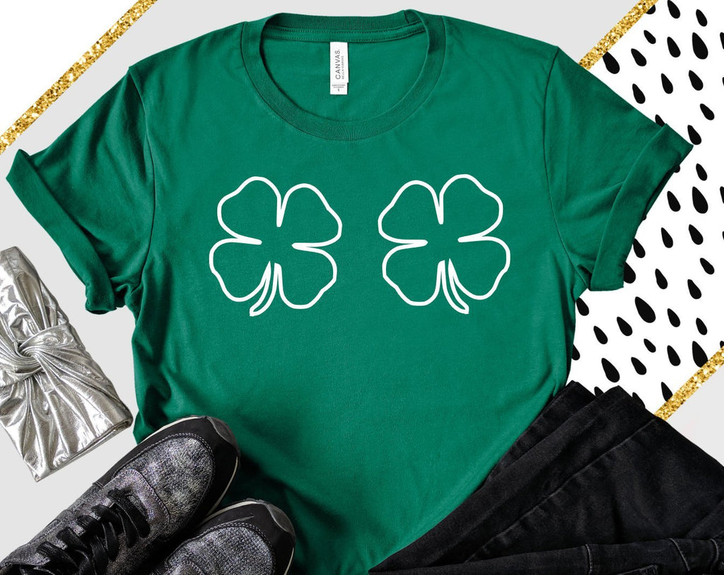 Shamrock Unisex Shirt - Hot Mess Mom Designs