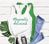 Magically Delicious Tank Top - Hot Mess Mom Designs