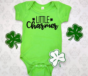 Little Charmer shirt - Hot Mess Mom Designs