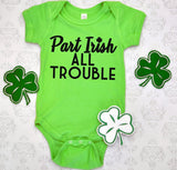 part Irish, all trouble - Hot Mess Mom Designs