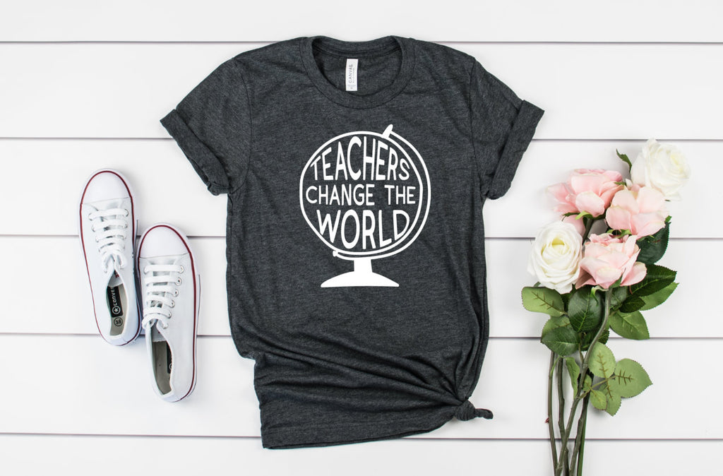 Teachers Change the World Unisex Shirt