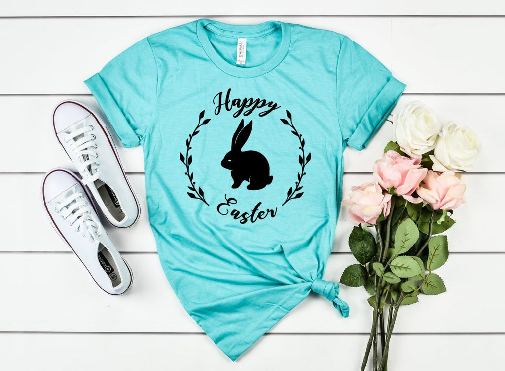 Happy Easter Unisex Shirt - Hot Mess Mom Designs