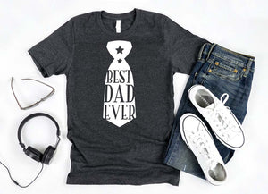 best dad ever Shirt - Hot Mess Mom Designs