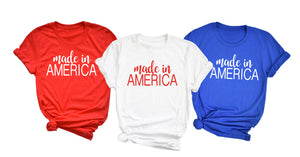Made in America Shirt - Hot Mess Mom Designs