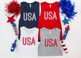 USA fourth of july tank top - funny shirts for women at Hot Mess Mom Designs