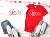 Love Valentines Shirt - Hot Mess Mom Designs