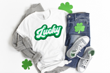 Lucky Retro Shirt - funny shirts for women at Hot Mess Mom Designs