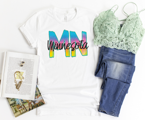 MN 90s Shirt - Hot Mess Mom Designs