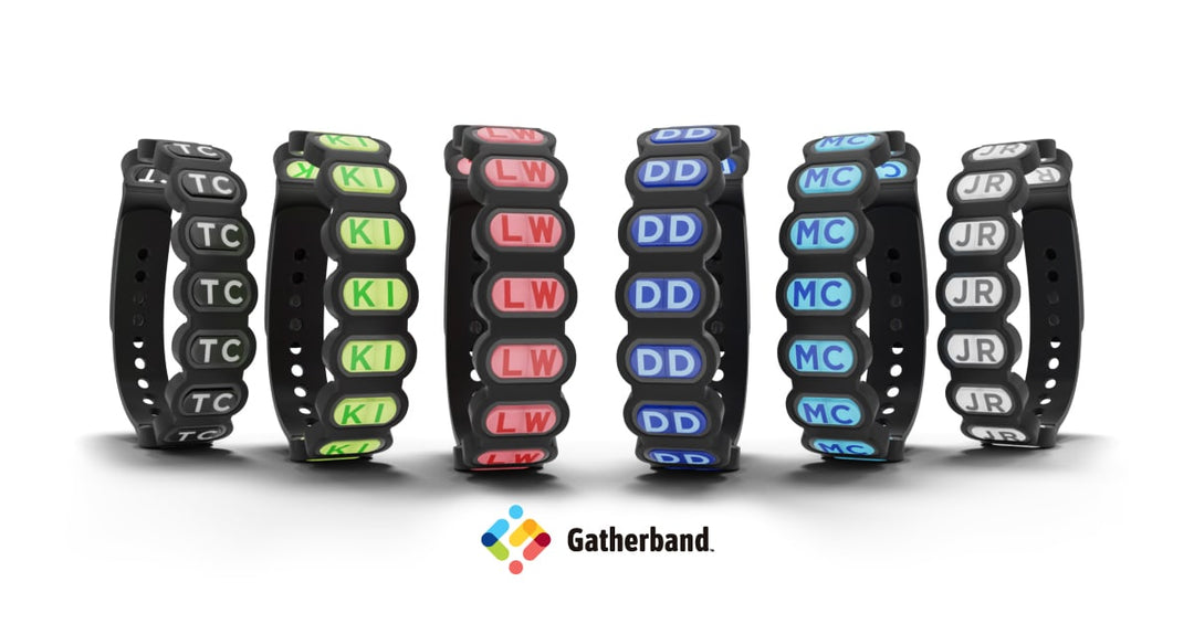 Gatherband tradable friendship bracelet