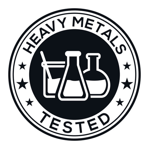 heavy metals tested