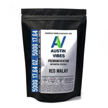Load image into Gallery viewer, Austin Vibes 500g (17.64oz) Red Malay Kratom Powder