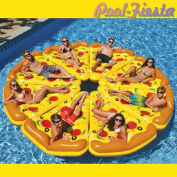 Bouée pizza - Pool-Fiesta