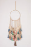 Comfy Cactus Dream Catcher Dip-Dye Macrame