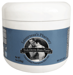 Diaper rash cream - Pedi-Derm Bum Paste | 4oz Jar